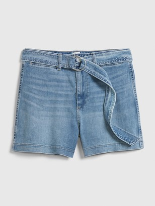Gap High Rise Denim Shorts