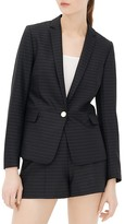 Sandro Venus Striped Blazer