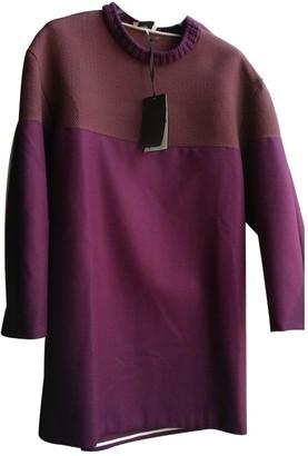 Fendi Purple Wool Dresses