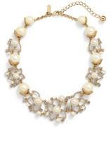 Kate Spade Women's 'Bouquet' Faux Pearl Statement Necklace