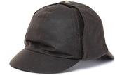 Barbour Olive Green Wax Bede Cap