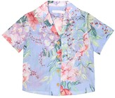 Thumbnail for your product : Zimmermann Kids Bellitude floral cotton shirt