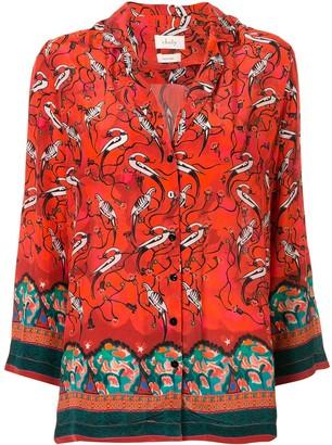 CHUFY Najima printed shirt