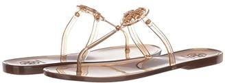 Tory Burch Mini Miller Flat Thong (Rose Gold) Women's Sandals