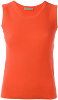 Cruciani ribbed knit top - women - Viscose/Cashmere - 40
