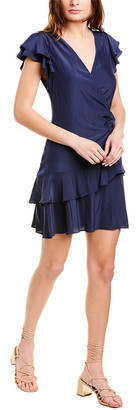 Ramy Brook Tatum Faux Wrap Dress