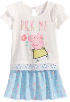 Nickelodeon Nickelodeon's Peppa Pig 2-Pc. Embellished Top and Skirt Set, Toddler Girls (2T-5T)