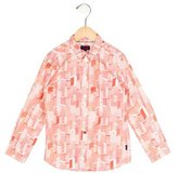 Paul Smith Boys' Printed Collared Shirt w/ Tags