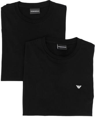 Emporio Armani logo crew neck T-shirt