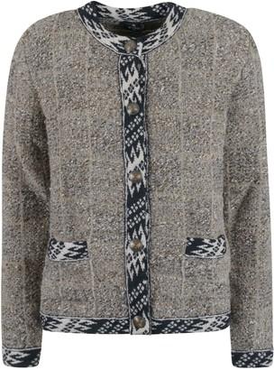 Etro Round Neck Buttoned Cardigan
