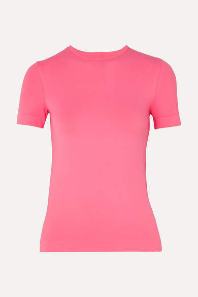 Helmut Lang Baby Stretch-jersey T-shirt - Pink
