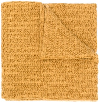 Holland & Holland Cashmere Knitted Scarf