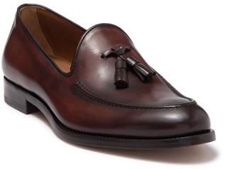 Antonio Maurizi Leather Tassel Loafer