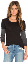 Monrow Varsity Double Layer Thermal Tee