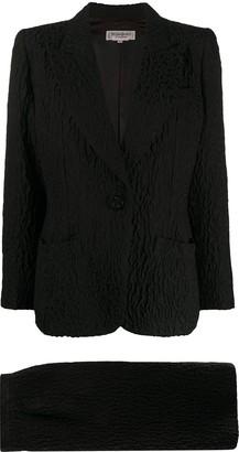 Yves Saint Laurent Pre Owned 1980s Pre-Owned Skirt Suit