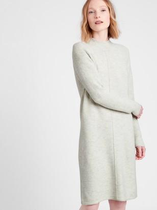 Banana Republic Mock-Neck Sweater Dress