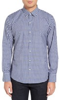 Zachary Prell Men's Caruso Trim Fit Check Sport Shirt