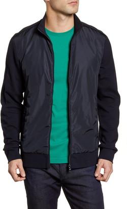 HUGO BOSS Skiles Regular Fit Zip Bomber Jacket