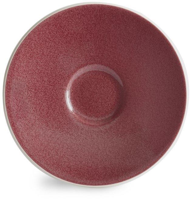 Sasaki Colorstone Cinnabar Saucer
