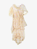Simone Rocha floral embroidered frill dress
