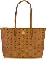 MCM logo print tote bag - women - Canvas - One Size