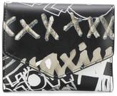 Maison Margiela graffiti print wallet