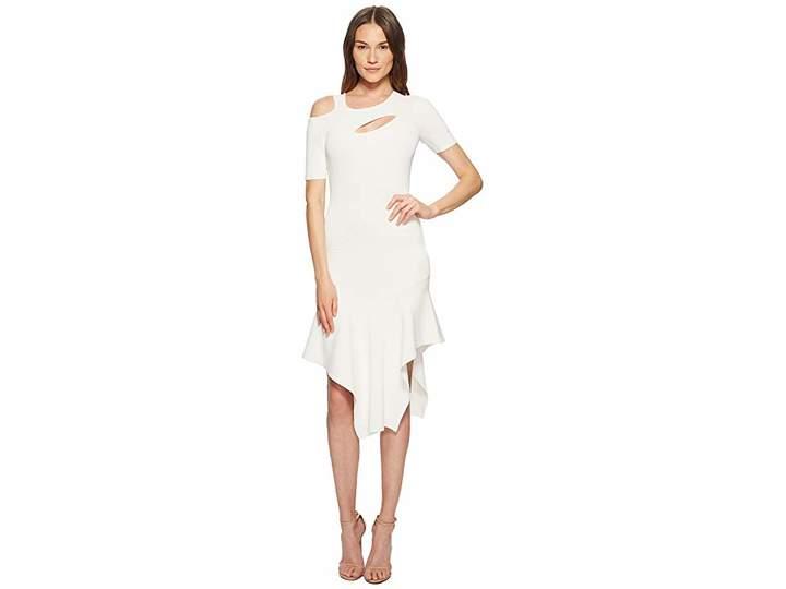 Yigal Azrouel Cut Out Asymmetrical Dress Women's Dress
