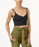 Free People Cropped Ribbed Camisole