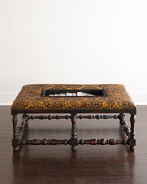 Old Hickory Tannery Calabrese Ottoman