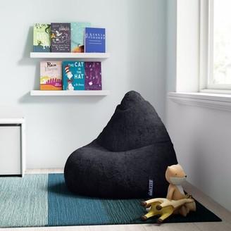 Mack & MiloTM Standard Bean Bag Chair & Lounger Mack & Milo Upholstery Color: Black