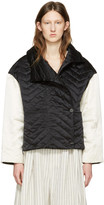 Isabel Marant Black & White Quilted Hector Jacket