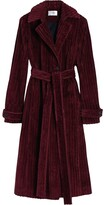 Thumbnail for your product : VVB Long Ribbed Wool Coat