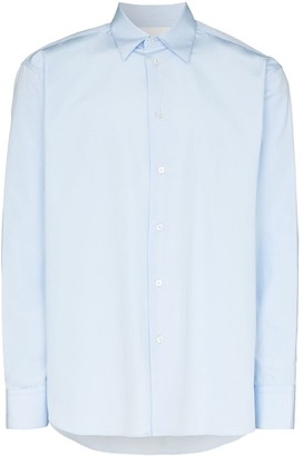 Jil Sander classic long-sleeve shirt