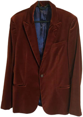 Jean Paul Gaultier Burgundy Cotton Jackets