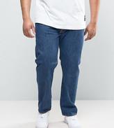 Levi's Levis Plus 501 Original Straight Fit Jean Stonewash