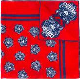 Kenzo tiger print neck scarf