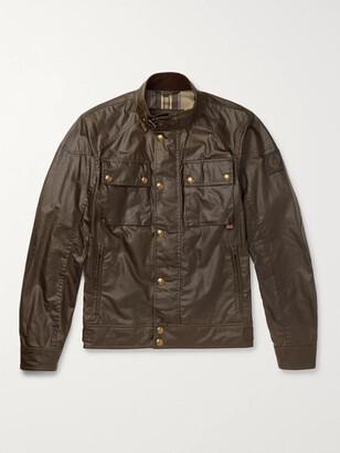 Belstaff Racemaster Waxed-Cotton Jacket - Men - Brown
