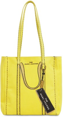 Marc Jacobs The Tag Cotton & Linen Canvas Tote Bag