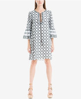 Max Studio London Lace-Up Shift Dress