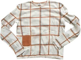 Hermes Beige Wool Knitwear for Women Vintage