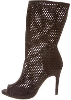 Pedro Garcia Perforated Ankle Boots