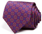 Robert Talbott Circle Square Medallion Classic Tie