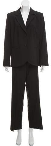 148 Virgin Wool High-Rise Pantsuit