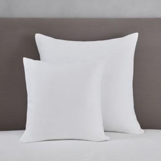 The White Company Mason Cushion Cover, White, Large Square