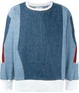 Facetasm denim sweatshirt
