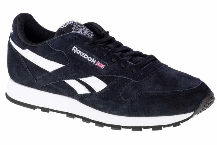 Reebok Black Suede Shoes For Men   Shop
