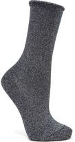Falke Metallic Knitted Socks - Midnight blue