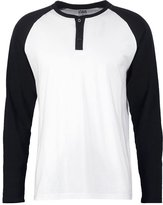 Urban Classics Long Sleeved Top White/black