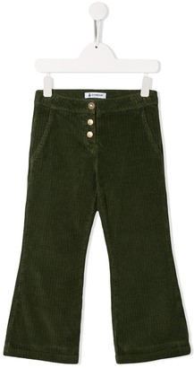 Dondup Kids Flared Corduroy Trousers