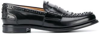 Church's Stud-Embellished Slip-On Loafers